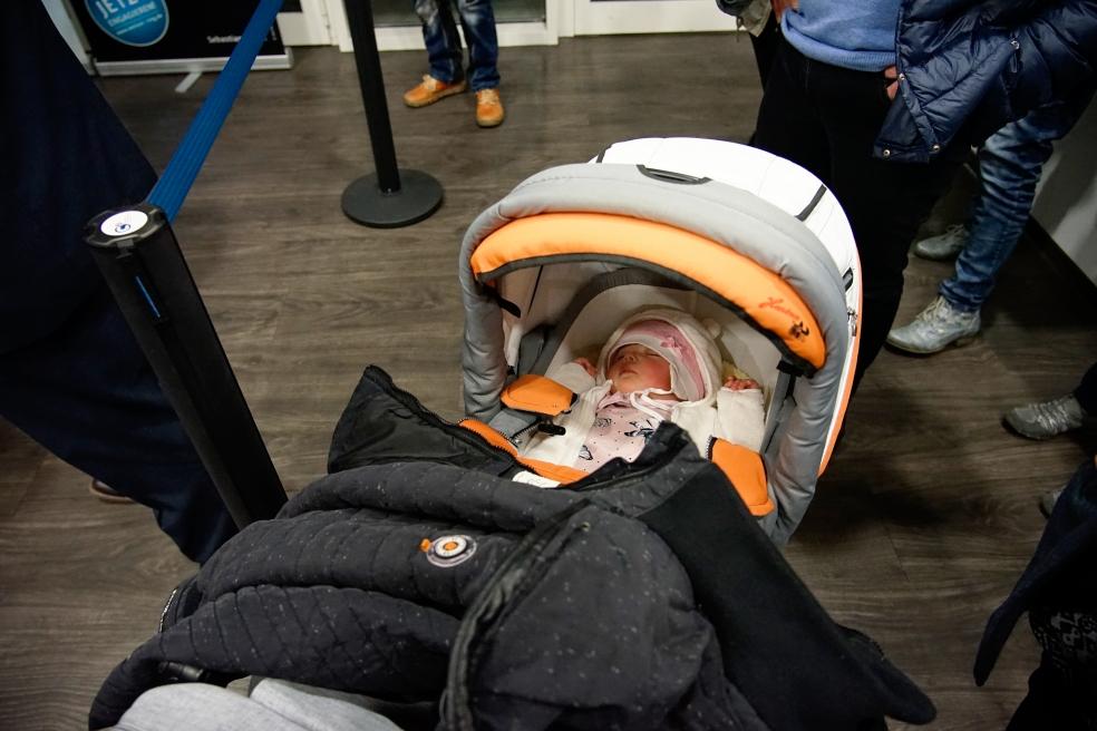 Die Zuschauer werden auch immer jünger, leider zu schnell müde. Foto: Friedrich Schulze